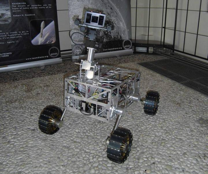 the team DIANA's rover